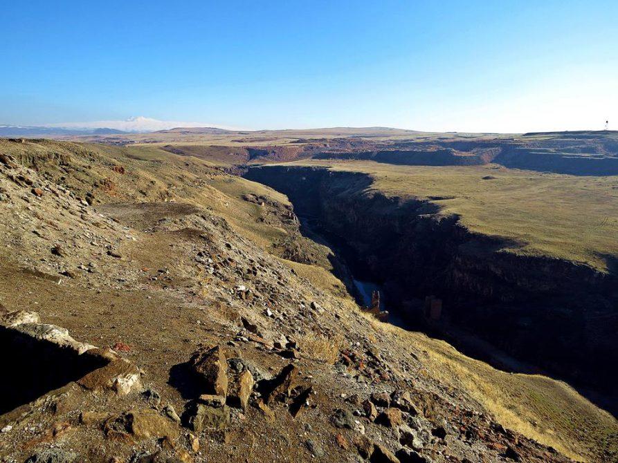 Grenzfluss, Türkei, Armenien