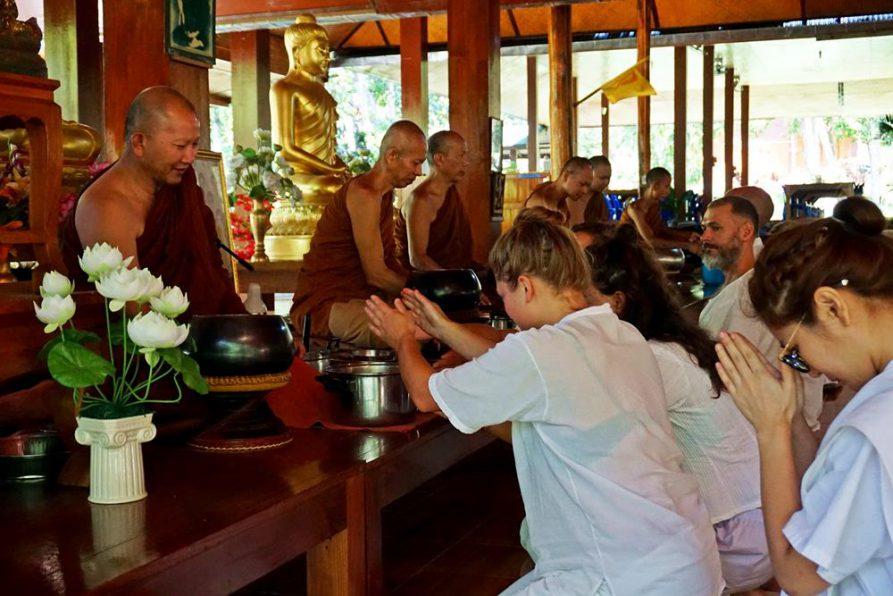 Vipassana, Wat Pa Tam Wua, Thailand