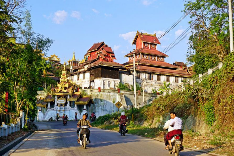 Seindon Mibaya Kloster, Mawlamyine, Myanmar