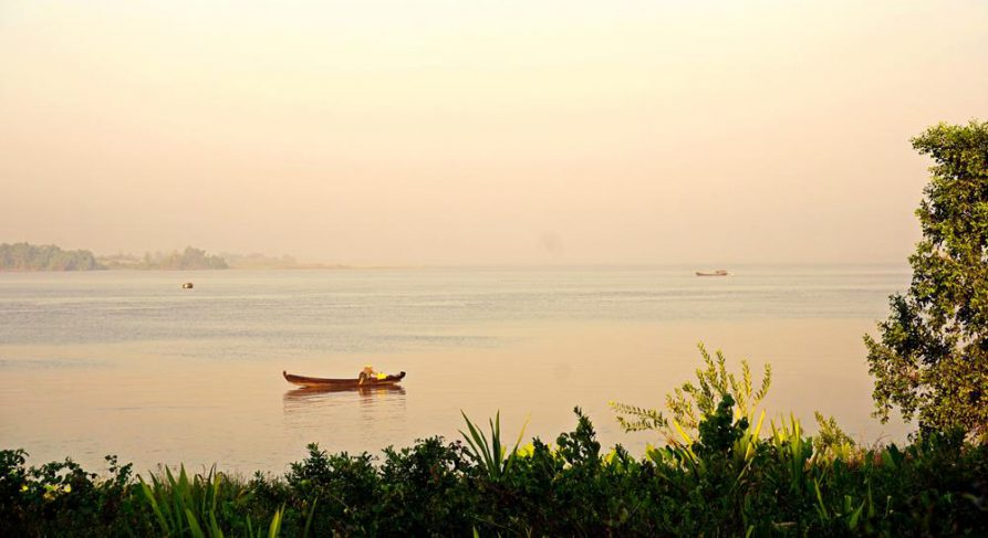 Thanlwin Fluss, Mawlamyine, Myanmar
