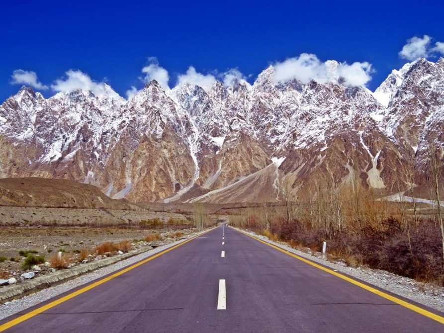 Passu, Karakorum Highway, Pakistan