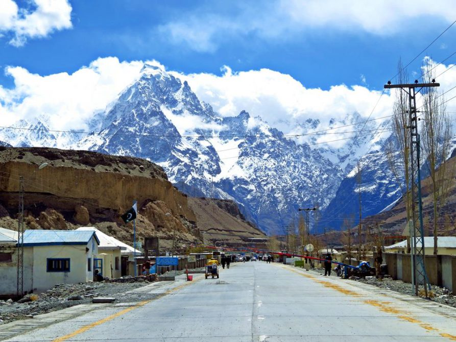 Sost, Karakorum Highway, Pakistan