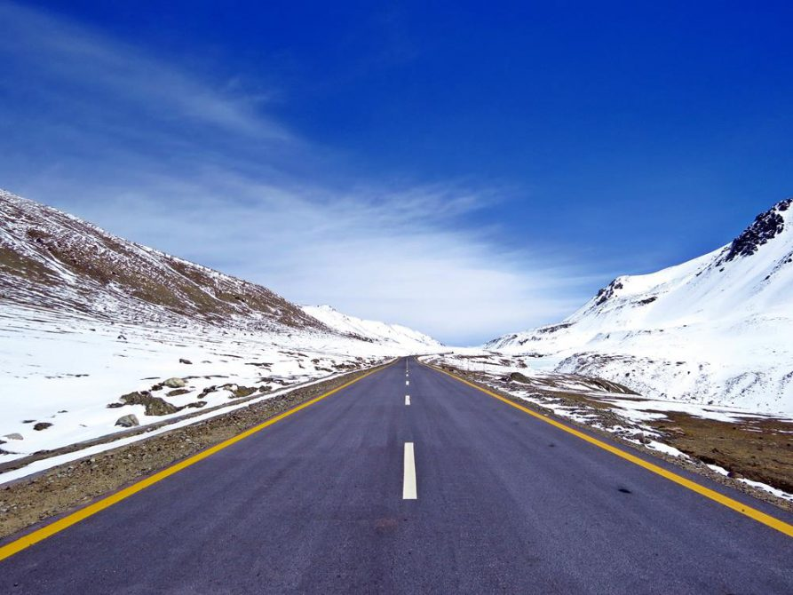Khunjerab Pass, Karakorum Highway, Pakistan