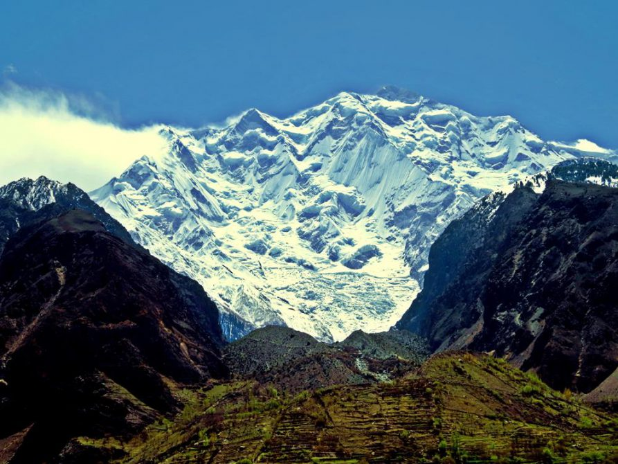Rakaposhi, Karakorum Highway, Pakistan