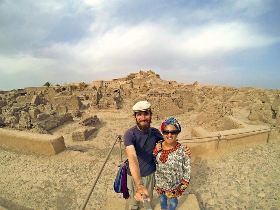 die zerstörten Ruinen von Bam, Arg-e Bam, Iran