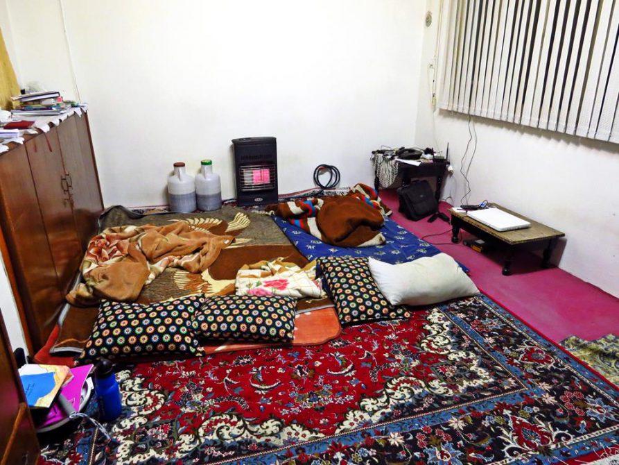 Couchsurfing in Rasht, Iran