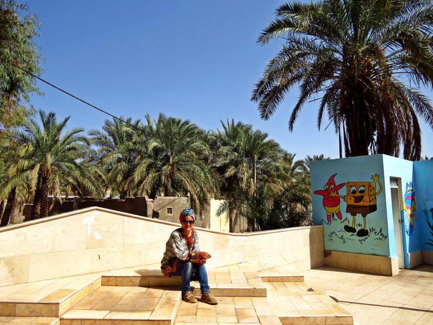 Patrick Star und Sponge Bob in Bam, Iran