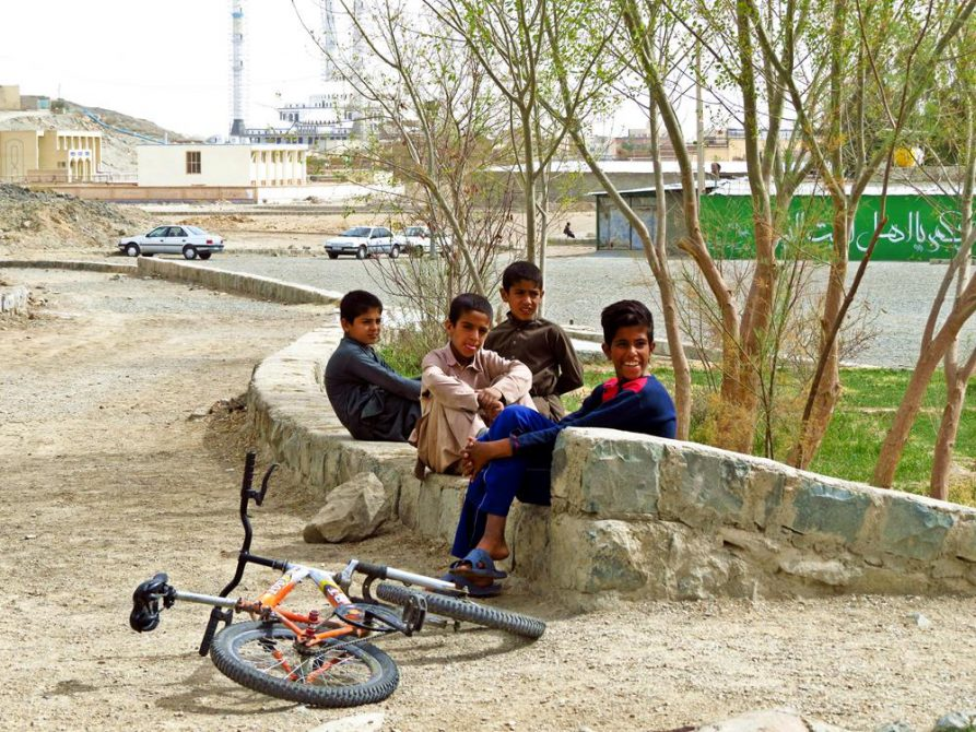 Kinder in Zahedan, Iran