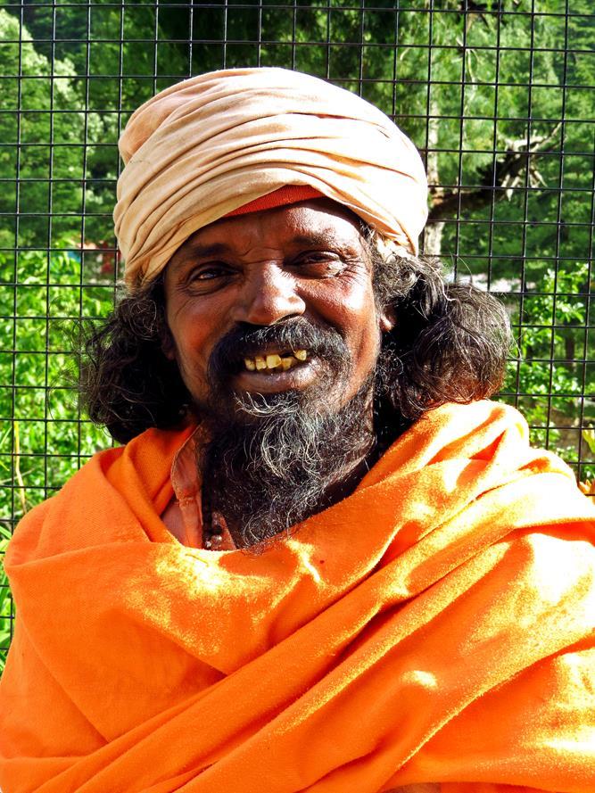 Sadhu, Gangotri, Indien