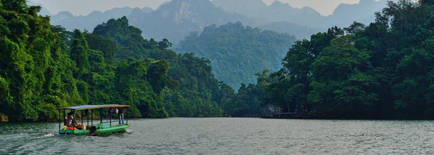 Wandern im Ba Be Nationalpark