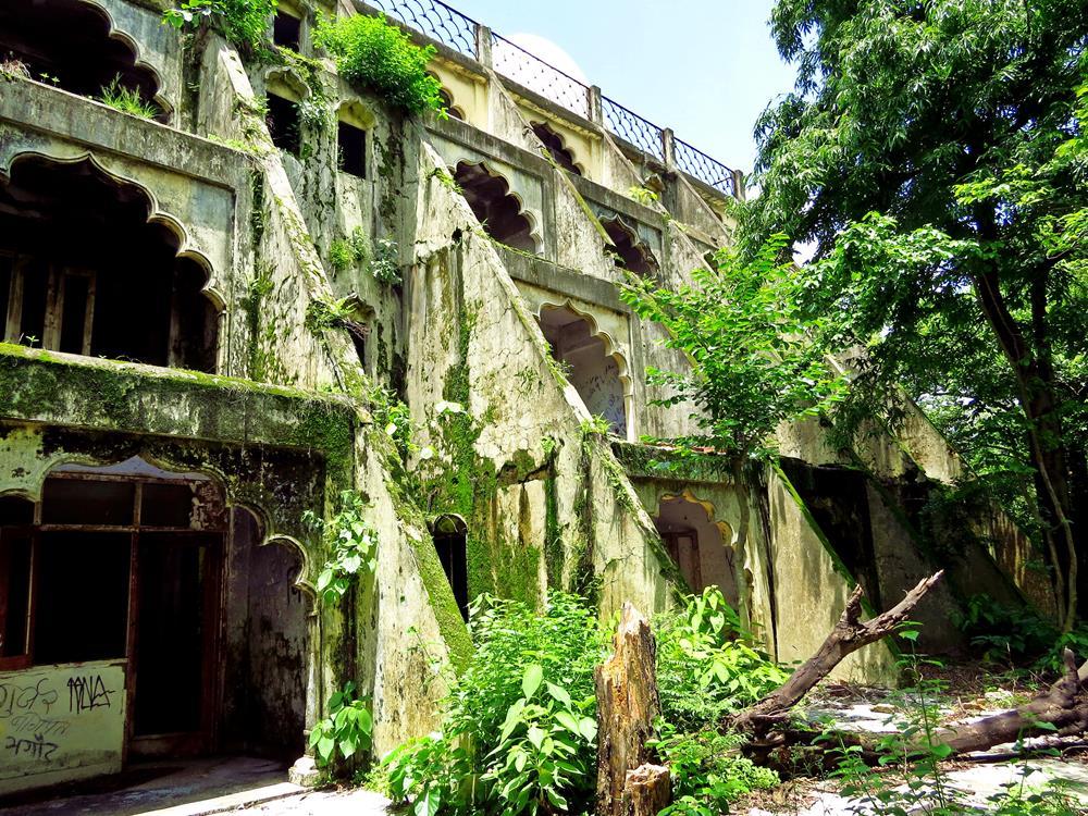 Maharishi Ashram, Rishikesh, Indien