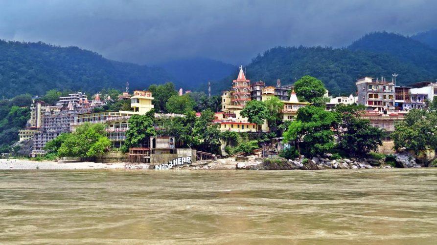 Rishikesh, Ganges, Indien