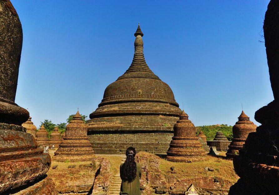 Yadanabon Pagode, Mrrauk U, Myanmar