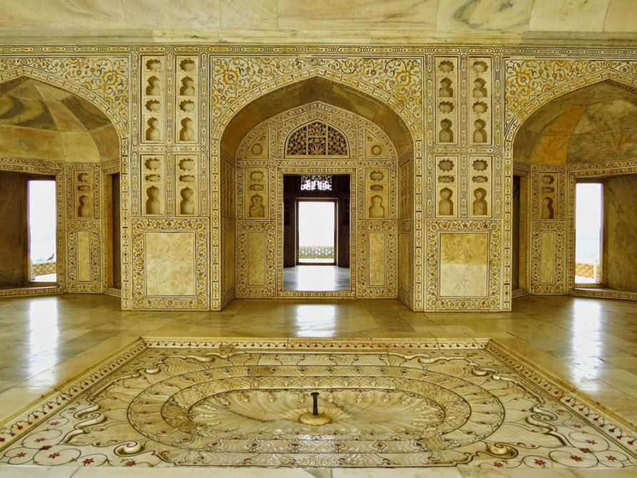 Rotes Fort, Agra, Indien
