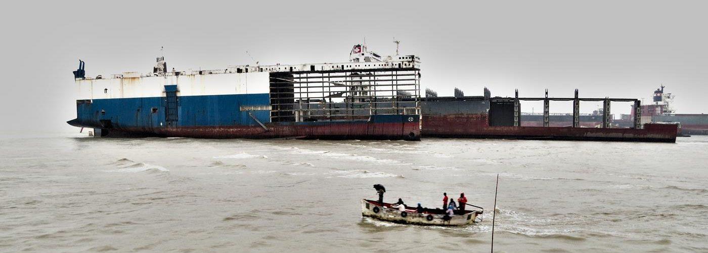 Abwracken, Chittagong, Bangladesch