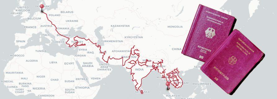 Visa: Auf dem Landweg von Deutschland nach Asien