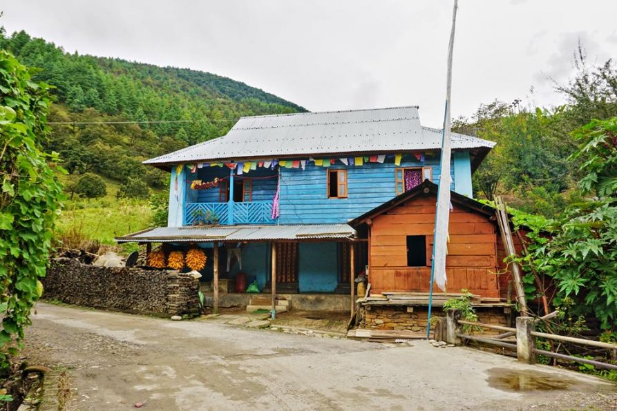 Bauernhaus, Sangti, Arunachal Pradesh