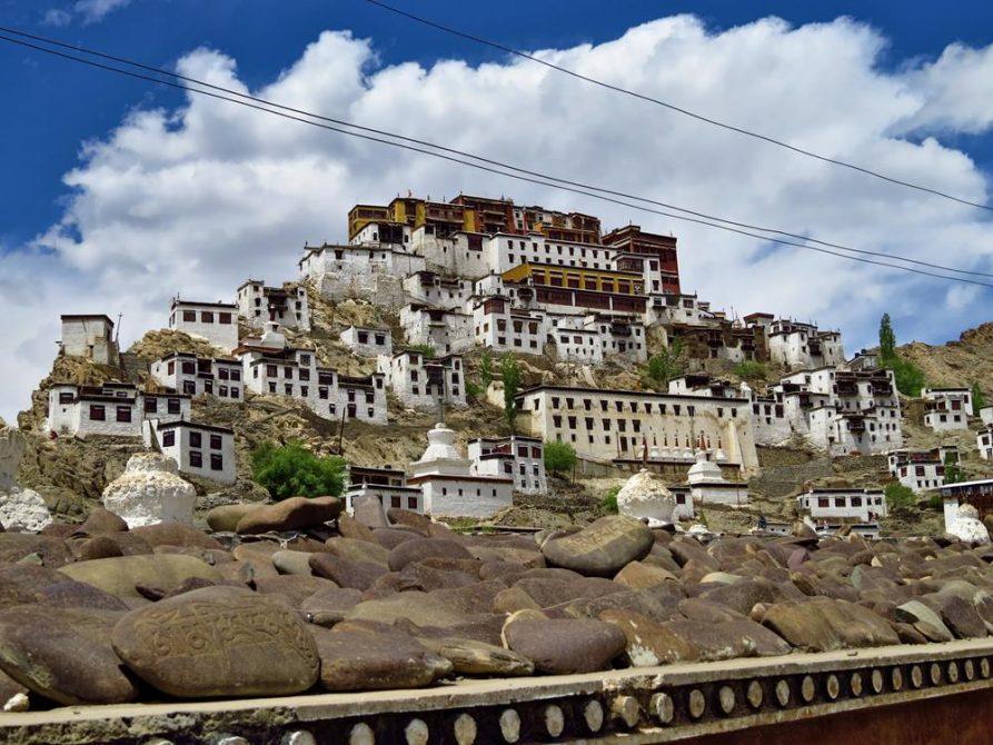 Thiksey Gompa, Ladakh, Indien