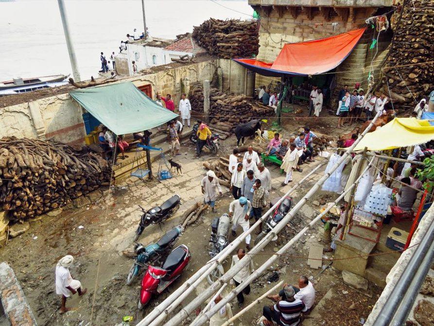 Manikarnika Ghat in Varanasi
