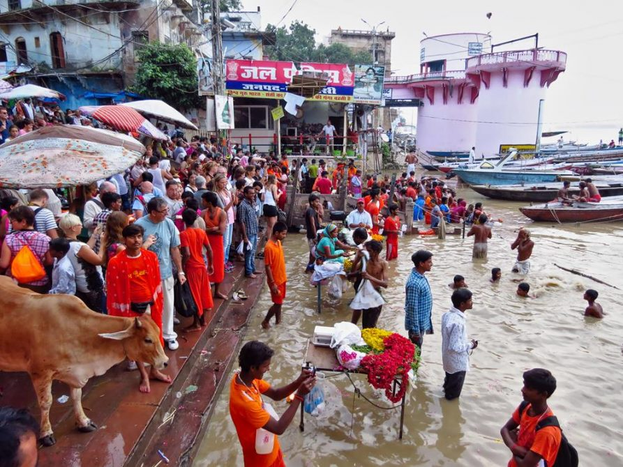 Puja am Ganges