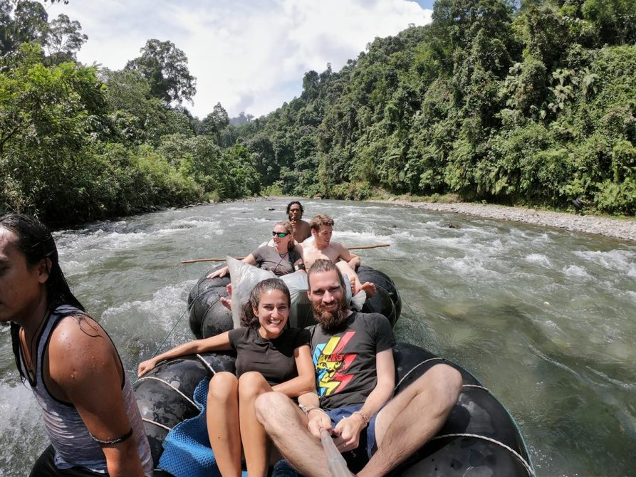 Rafting im Gunung Leuser Nationalpark