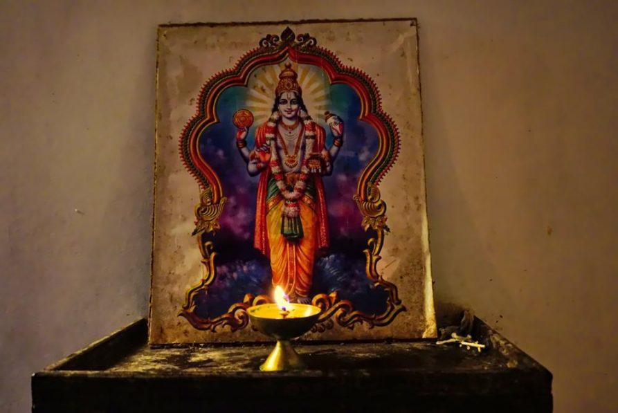 Dhanvantari, Gott der Heilkunst