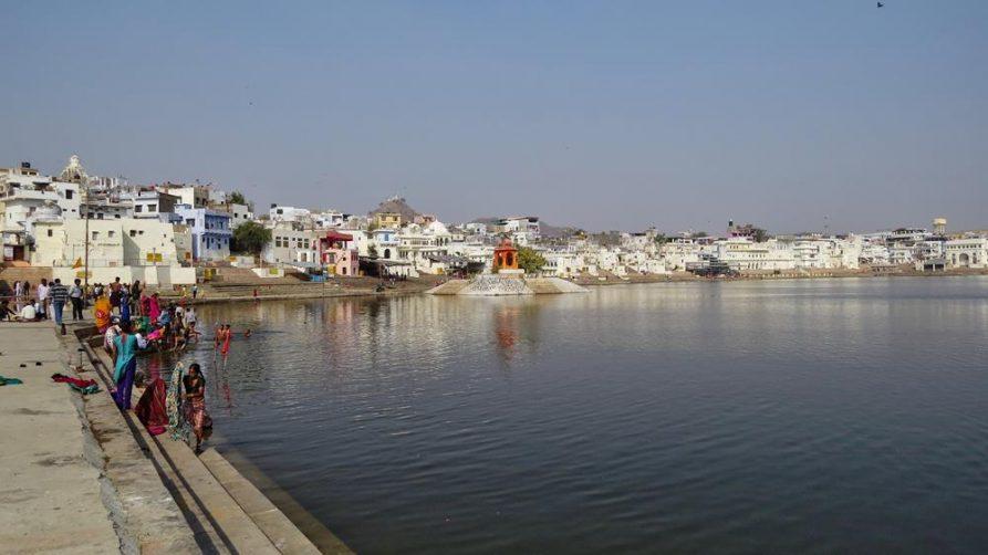 der heilige See in Pushkar