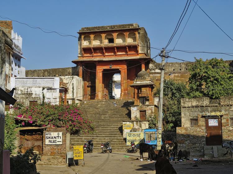 Altstadtgassen von Pushkar, Rajasthan