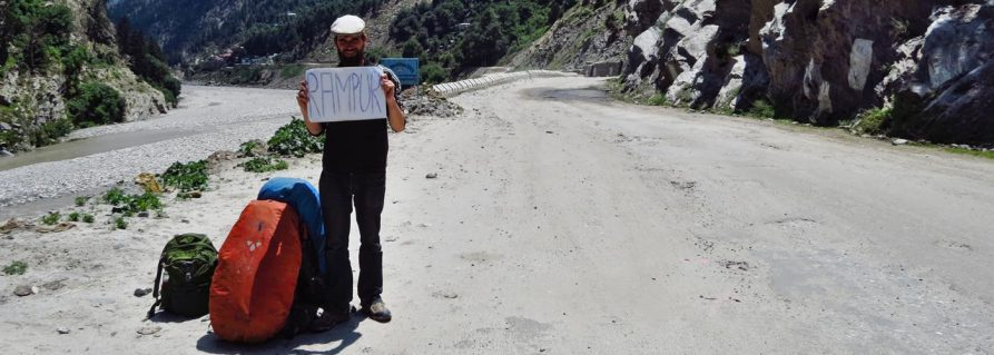Per Anhalter nach Shimla