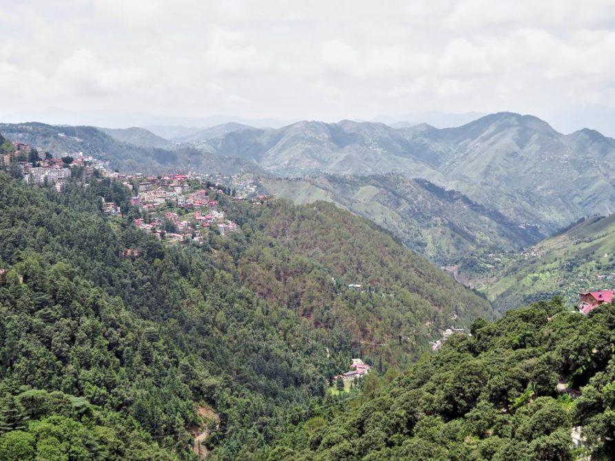 Shimla in den Bergen von Himashal Pradesh
