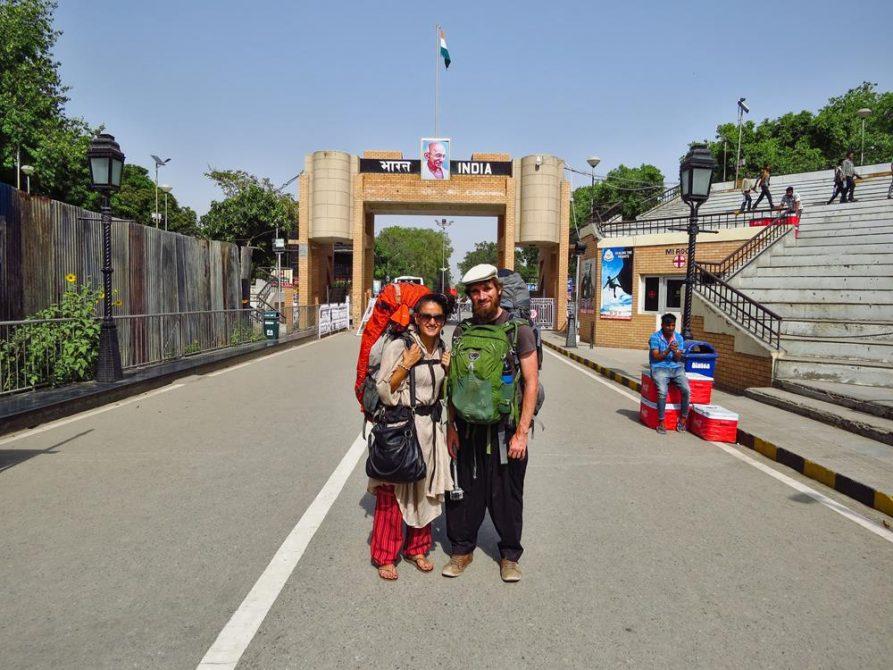 Attari Grenze, Amritsar, Punjab, Indien