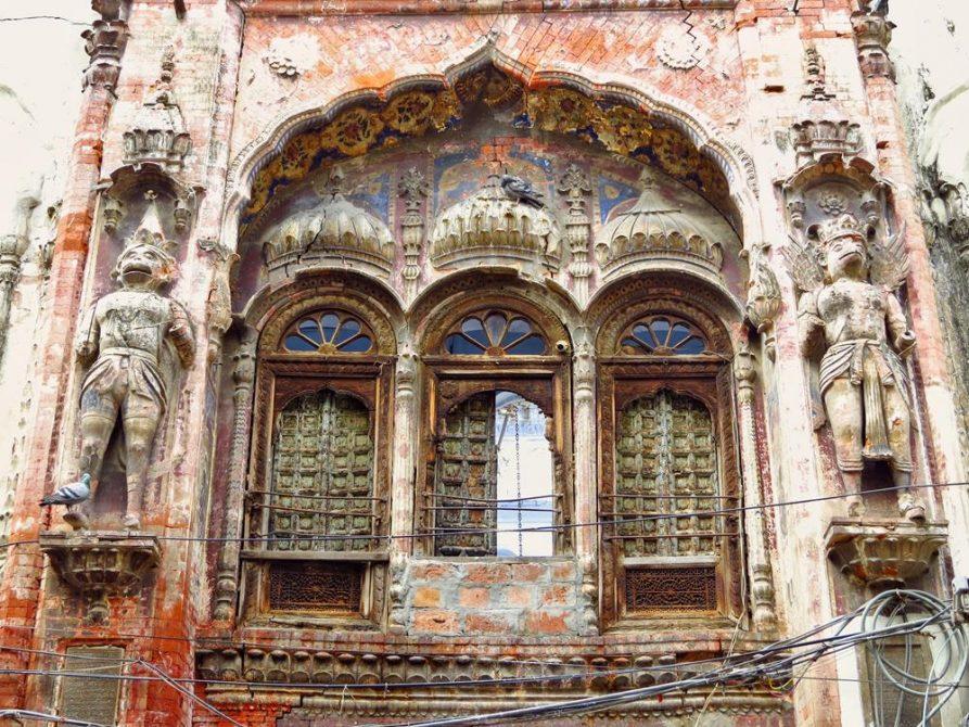 Altstadt in Amritsar, Indien