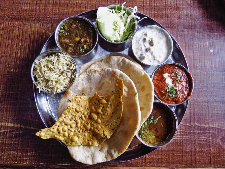 Punjabi Thali, Indien