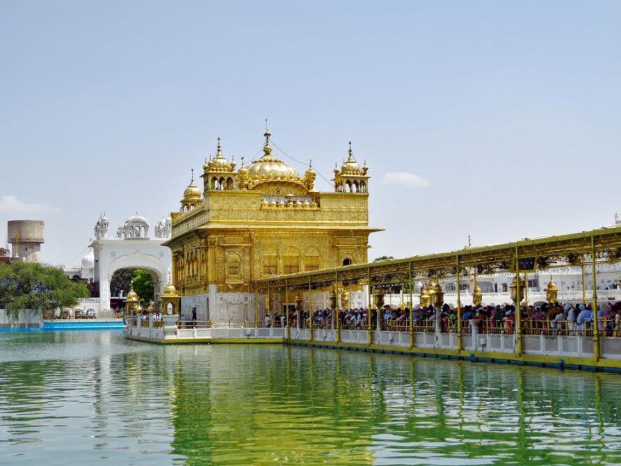 der Goldene Tempel, Amritsar, Indien