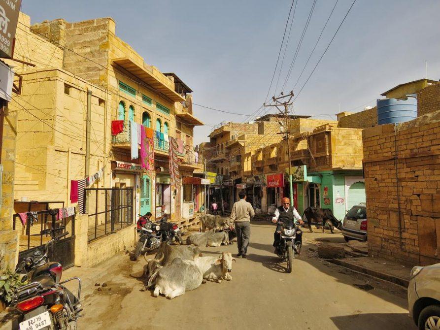Altstadt, Jaisalmer, Rajasthan, Indien