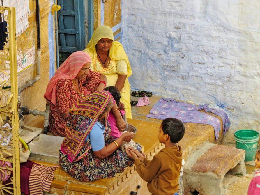 Frauen, Jaisalmer, Rajasthan, Indien