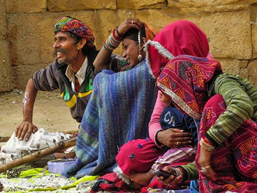 Händler, Jaisalmer, Rajasthan, Indien