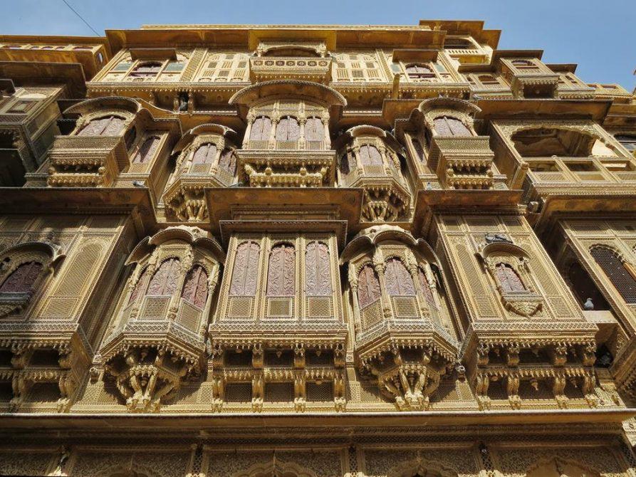 Haveli, Jaisalmer, Rajasthan, Indien