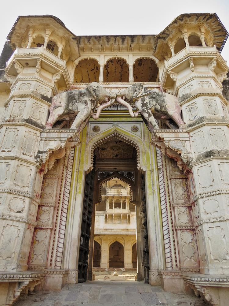 Elefantentor, Palast, Bundi, Rajasthan