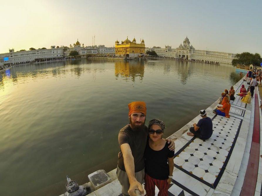 Harmandir Sahib, Amritsar, Indien
