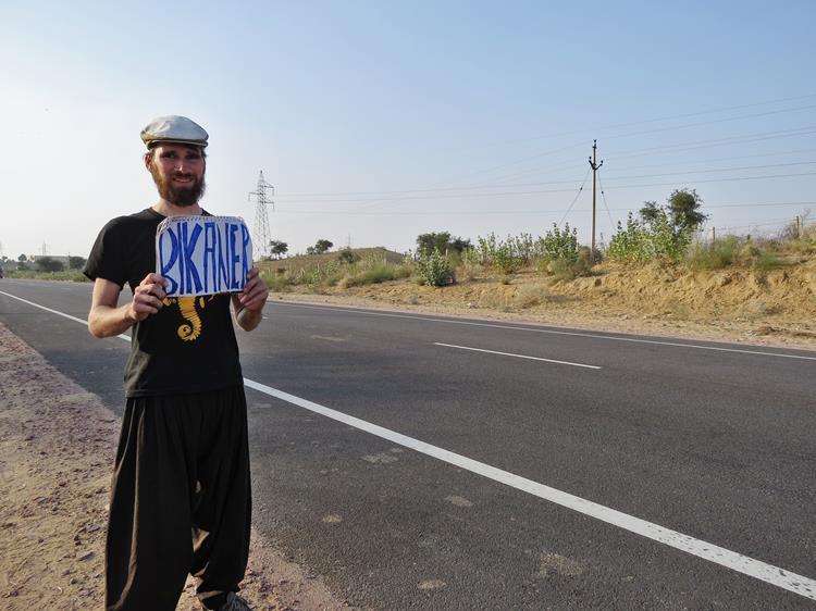 Per Anhalter durch Rajasthan, Indien