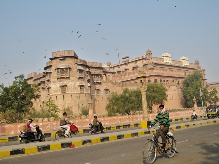 Junagarh Fort, Bikaner, Rajasthan, Indien