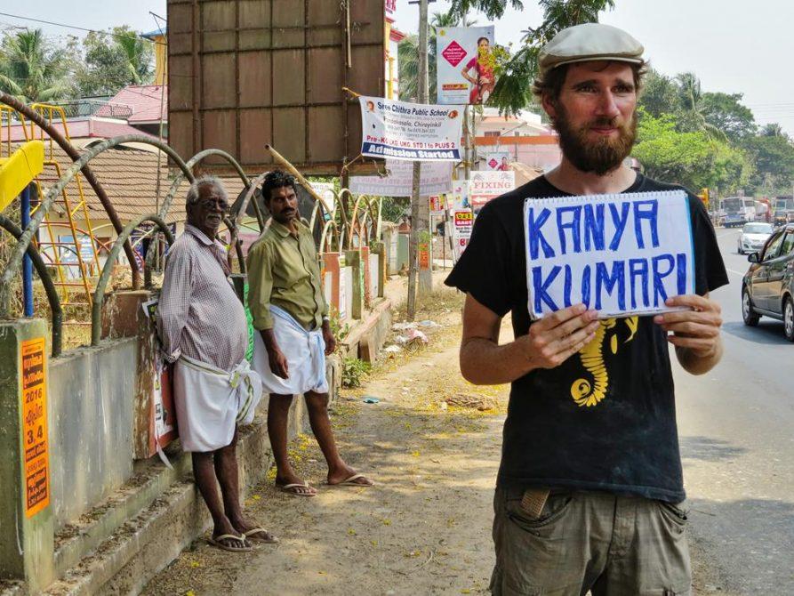 Trampen in Tamil Nadu