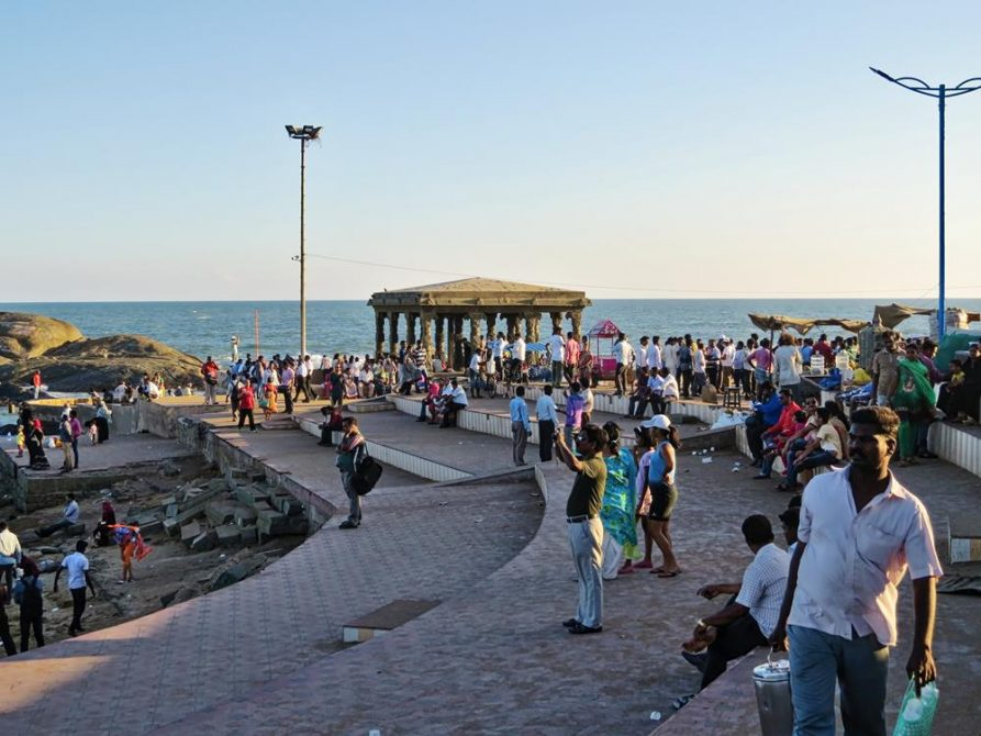 Promenade in Kanyakumari, Tamil Nadu