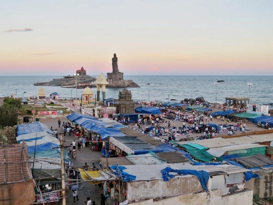 Kap Komorin, Kanyakumari, Tamil Nadu, Indien