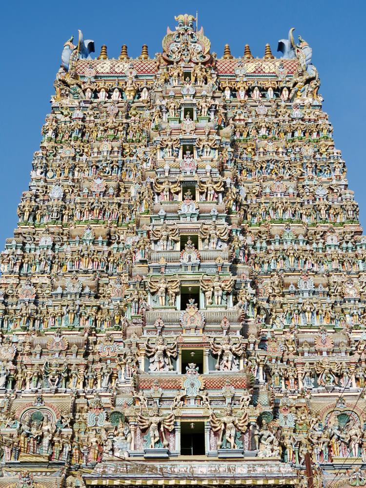Minakshi Tempel, Madurai, Tamil Nadu, Indien