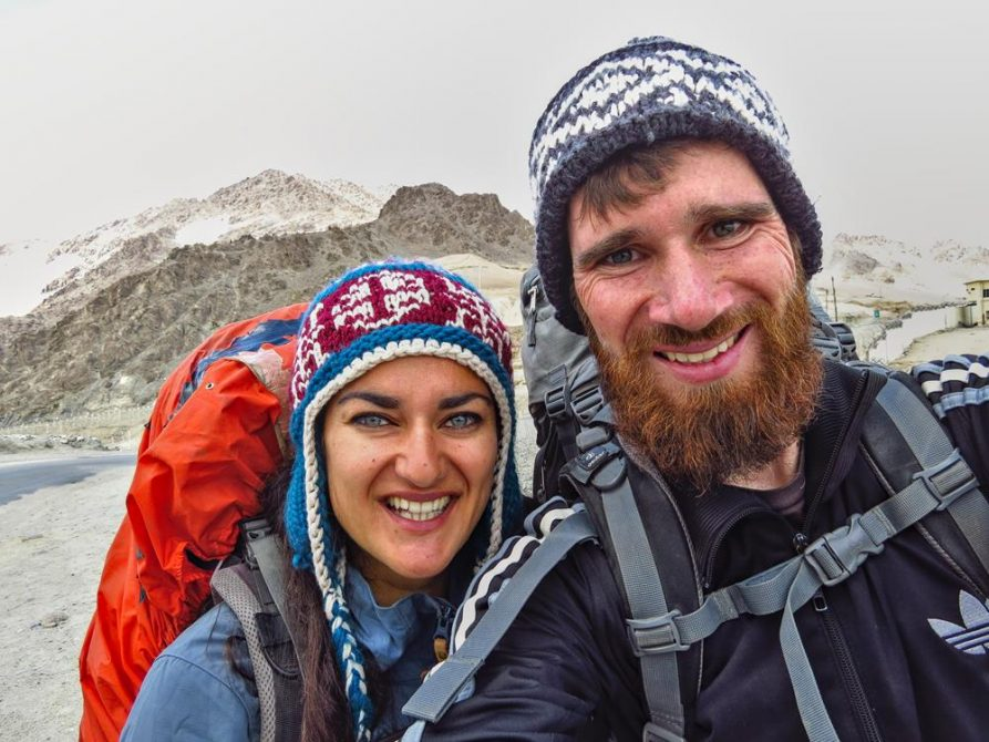 Wanderer im Markha Tal, Ladakh, Indien