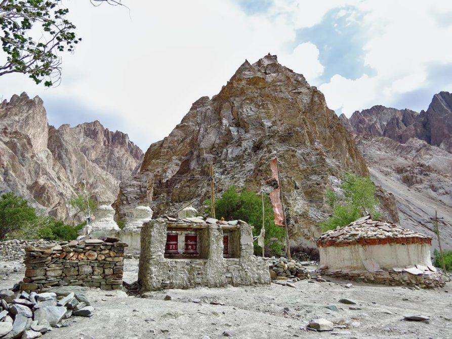 Gebetsmühlen, Markha Tal, Ladakh