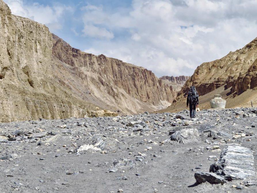 wandern im Markha Tal, Ladakh, Indien