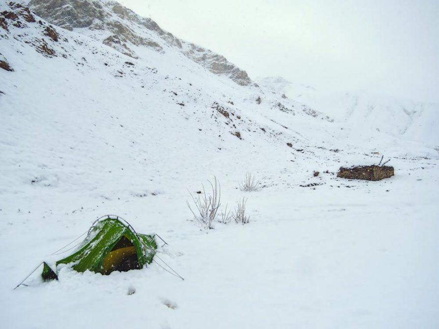 Neuschee im Markha Tal, Ladakh